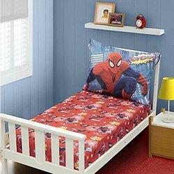 Marvel Comics Spider-Man Toddler Boy's 3-Piece Sheet Set