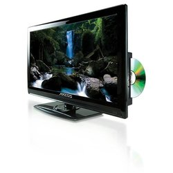 """Axess 22"""" LED AC/DC TV with DVD Player"""