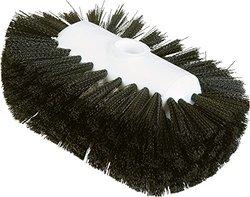 "Carlisle 4004103 Sparta Spectrum Flare Head Tank and Kettle Brush, Black Polyester Bristles, 7-1/2"" L x 5-1/2"" W (Case of 12)"