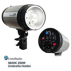 LimoStudio AGG1908 250-Watt Digital Strobe Photographic Flash Light
