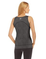 2XU Women's Movement Tank Top - Black Marle - Size: XL