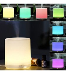 Efrank Ultrasonic Aromatherapy Essential Oil Cool Mist Aroma Diffuser Wit