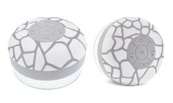 Aduro AQUA Sound Bluetooth Shower Speaker - White Giraffe