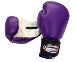 Woldorf USA Boxing Bag Gloves in Vinyl - Purple - 8oz