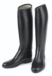 Ovation Child's Lined Rubber Riding Boot - Derby/Cottage/Black - Size: 1