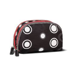 Sonia Kashuk Double Zip Cosmetic Bag - Black