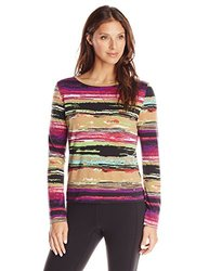 Skhoop Women's Sally Long Sleeve Tee, Small, Clover