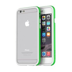 araree HUE for iPhone 6 - White/Green (ARHE-IP6GNWH)