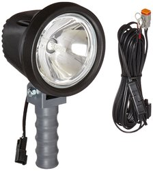 6 Million Candlepower 12-24V Spotlight - Black (HUL-18-12V-S-21RT)