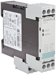 Siemens 3RN1010-1CG0 0 Thermistor Motor Protection Relay, Screw Terminal, Standard Evaluation Units, 2 LEDs, 22.5mm Width, Auto Reset, 1 NO + 1 NC Contacts, 110VAC Control Supply Voltage