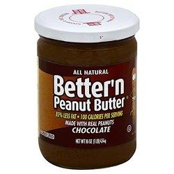 Better'n Peanut Butter Chocolate Peanut Butter Spread - Pk of 6 - 16oz ea.