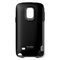 iFace Samsung Galaxy Note 4 Cell Phone Case - Retail Packaging - Black