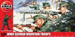 Airfix WWII German Mountain Troops 1:32 Scale Military Series 3 Figures