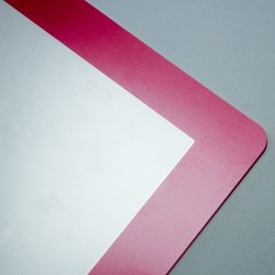 Rolling Ave Bubble-Free Screen Protector for iPad 2/3 - Magenta/Hot pink