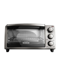 Black & Decker TO1373SSD 4 Slice Stainless Steel Toaster Oven NO COLOR
