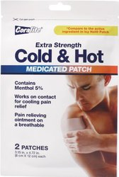 Cold & Hot Medicated Patch Bulk Case of 24