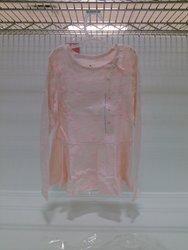 Circo Girls' Long Sleeve T-Shirt - White Stripe - Size: 6