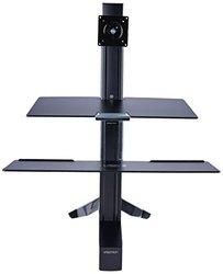 Ergotron WorkFit-S Display Stand Item # 198772 black