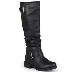 Journee Collection Women's Wide-Calf Knee-High Boots -