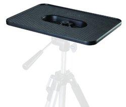 "Projector Platform Pallet / Shelf All Metal for Video Stand / Tripod 1/4"" & 3/8"" Mount"