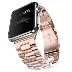 J&D 42mm Stainless Steel Replacement Apple Watch Band for Series 2/1