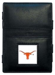 NCAA Texas Longhorns Leather Jacob's Ladder Wallet