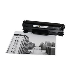 2-Pack LINKYO Compatible Toner Cartridges Replacement for Canon128 (Black)