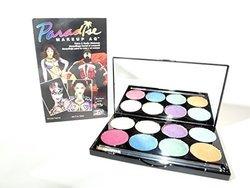 Mehron Paradise Brilliant E17d5 Face Paint Palette (8 Colors)