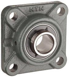 NTN UCF204-012D1 Light Duty Flange Bearing 4 Bolts Setscrew Lock