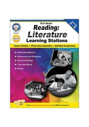 Carson-Dellosa Grades 6-8 Reading Literature Learning Stations
