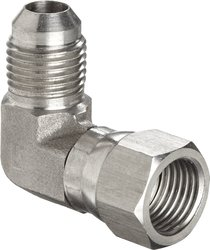 "Brennan 6500-12-12-SS Stainless Steel JIC Tube Fitting 3/4"" Tube OD"