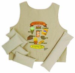 Health Edco Unisex Fat Vest - Size: Extra Small