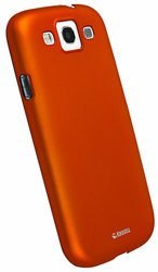Krusell ColorCover Slim Case for Samsung Galaxy S3 - Orange