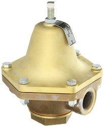 "Cash Valve Bronze Pressure Regulator - 55 - 100 Range - 1"" NPT Female"