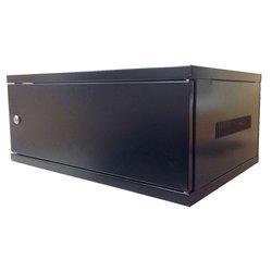 Electriduct 4U Wall Mount Rack Enclosure - Solid Door
