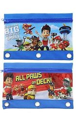 Paw Patrol Multi-purpose Pencil Pouches Bags - 2 Pack
