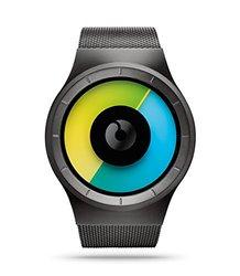 Ziiiro Men's Celeste Gunmetal Colored Watch