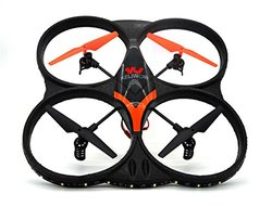 KELIWOW 2.4GHz 4 CH 6 Axis Gyro RC Quadcopter with HD Camera