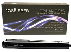 Jose Eber Worlds Fastest Hair Straightener With Travel Case Maximum Temperature In An Incredible 5 Seconds