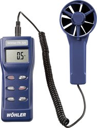 Wohler FA320 Fan Anemometer with Tripod Connector & IR Printer Port