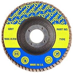 "Sundisc 29 High Density Abrasive Super Flap Disc - 7"" Diameter - 36 Grit"