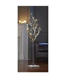 "Sarah Peyton Indoor/outdoor Decorative Led Snow Tree 48"" Tall 48 LED Light"