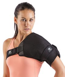 ActiveWrap Shoulder Wrap for Right or Left Shoulder - Black - Size: L/XL