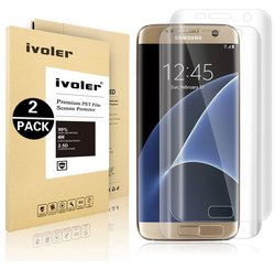 iVoler Premium Pet Film Screen Protector for Samsung Galaxy S7 Edge