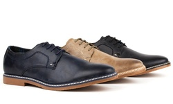 Tony's Casual Men's Derby Shoes: Black/11