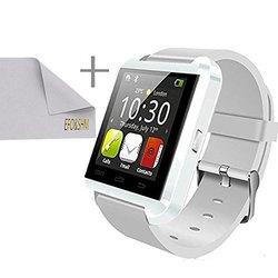 EFOSHM Smart Bracelet Watch for SmartPhones &Tablets - Silver/Black