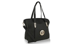 MKF Collection Women's Chloe Medium Shoulder Bag - Black