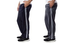 Vertical Sports Men's 2-Pack Track Pants - Grey/Navy - Size: XL