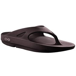Oofos Ooriginal Thong Sandal Mocha Men's 12 Women's 14