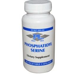 Progressive Laboratories Phosphatidyl Serine 60 Vegetable Capsules (Discontinued Item) 0.15lbs